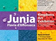 """Banco do Brasil em New York exibe """"Kindoms Art Exhibition"""""""