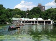 """The Loeb Boathouse"" no Central Park"
