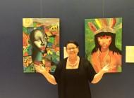 """""""Women Celebrating Women"""" Art Exhibition, foi um sucesso de público e critica"""