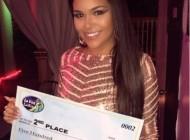 Sarah Ferreira fica em segundo lugar em concurso de musica latina em NY