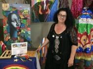 Artista plástica Verônica Martins participa de festival cultural em Newark-NJ