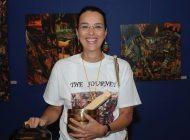 Junia Flavia d'Affonseca abre hoje sua exposição em New York