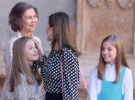 Tensão na família real espanhola, após celebração de Páscoa