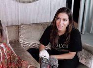 Anitta faz bate papo com youtuber portuguesa super descontraído