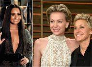 Ellen DeGeneres convida Demi Lovato para morar em sua casa depois da rehab