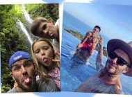 Família Beckham decide curtir Bali por não poder sair por causa de terremoto