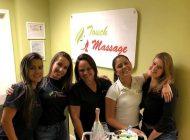 Andrea Oliveira inaugura em Boca Raton-FL, mais uma unidade da Touch Massage