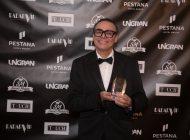 Dadau Barbosa recebe prêmio na Europa