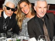 Fashionistas celebram Gisele Bündchen à frente de Chanel Nº5